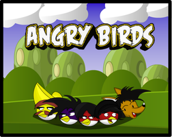 Angry Birds Team by chacs