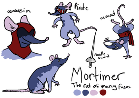 Mortimer: The rat of many faces by dandypandy12