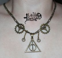 Deathly Hallows Goes Steampunk by TheoGoth