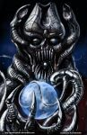 TLIID 198. Galactus in Giger style. by AxelMedellin