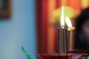 Christmas Candles by AnaMesquitaPhotos