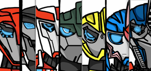 TFP: Autobots-Digital by Mystic2760