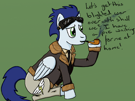 Soarin as RAF Pilot by YotuRenn