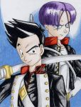 Goten and Trunks by LordCavendish