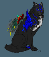 Lady Lirriea's Okami OC by Akadafeathers