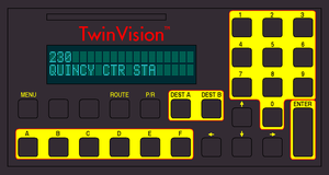 Twin Vision Smart Series Destination Sign Console by tpirman1982