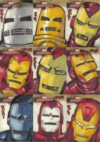 Marvel Masterpieces 2 Iron Man by jasinmartin