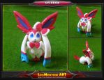 Pokemon Sylveon by LuisMonterieArt