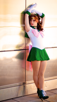 Sailor Jupiter Cosplay Photoshoot by Swoz