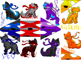 Adoptables!! by turtlepower04