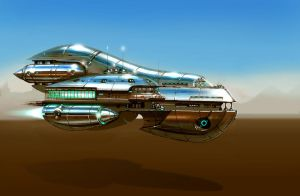 Royal ship by vlda