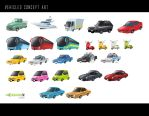 Vehicles concept by X-Factorism