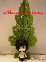Christmas tree and L by Kogalover-Zoe