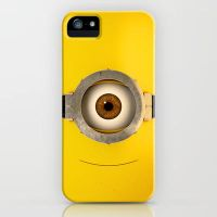 Minion phone case Galaxy s4 - Iphone all models! by DontNoAnything
