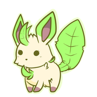Dex Challenge: 470  Leafeon by The-Earth-Mistress