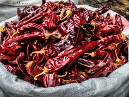 Hot chili peppers by ShlomitMessica