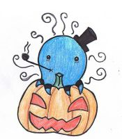Squiddy McPumpkin by Moose-of-Doom