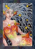 Starfish - ACEO by MisticUnicorn
