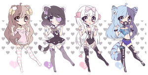 +Chibi Mix Adoptables 32 :: OPEN :: (2/4) + by Hunibi