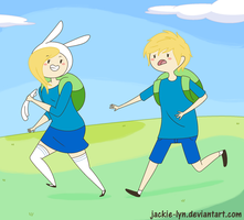 Run Finn Run! by Jackie-lyn