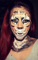 Tiger Makeup by Tania20a