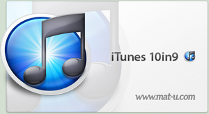 iTunes 10in9 by mat-u