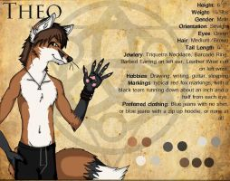 Theo Ref Sheet 2011 by WildTheory