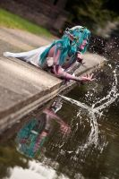 Tyrande: Water magic by murmeltierchen