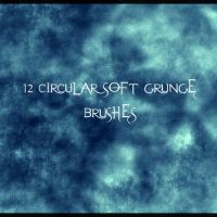 12circular soft grunge brushes by xXxPaleGFXxXx