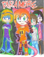 paramore by miki-the-fox