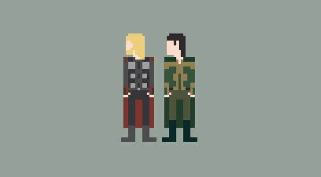 Thor 8-Bit by Al-Pennyworth