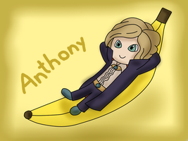 PL fruit chibi - Anthony by kenabe