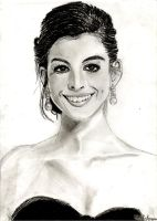 Anne Hathaway by RachelLou96