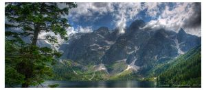 Morskie oko panorama by aniabeata