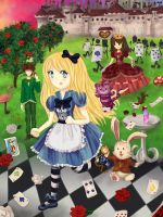 Alice in Wonderland by Yurisz