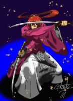 Rurouni Kenshin by elchinoga