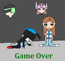 AAKAAU15 Game Over by Romance-Bunny