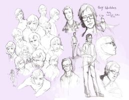 Leonard - Sketches by CatCouch