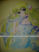 chobits chii by Bloo-DKai12