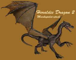 Dragon - Heraldic 2 -Feb 10 08 by markopolio-stock