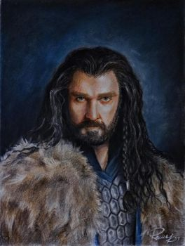 Thorin Oakenshield by Kriscorpion
