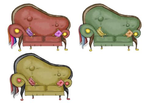 Couches by Xayden
