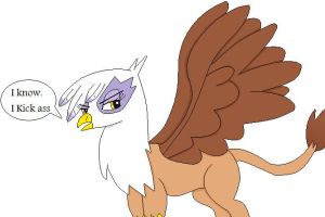 Gilda the Griffin by cartoonfan88