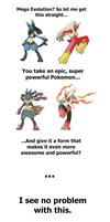 Mega Evolutions are Mega Awesome by Tayzonrai