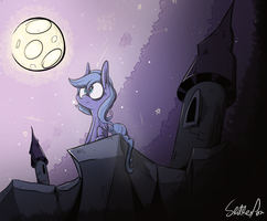 Waiting by Slitherpon