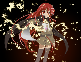 Shakugan No Shana by wasgoed
