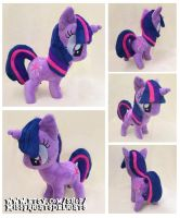 Pony Plush: Twilight Sparkle -Sold- by SnowFright