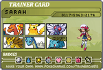 Kanto Trainer Card by hats-for-triumph