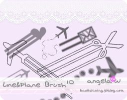 Planes+Lines Brushes by babyxshortyy
