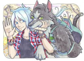 Dobe and Tim by Naruto-No-Dobe